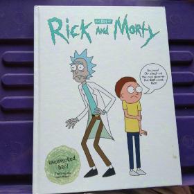 [现货]原版 The Art of Rick and Morty 瑞克和莫蒂设定集 画集 夜光封面