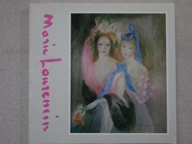 巴黎牝鹿——玛丽·罗兰珊(Marie Laurencin)展 油画、水彩、版画、素描、插画作品集 日文原版现货