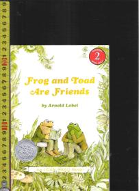 |绘本读本| 原版英语彩色漫画故事书 I Can Read! --Frog and Toad are Friends【店里有许多英文原版书欢迎选】