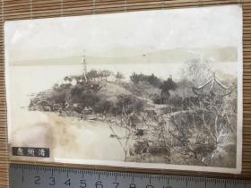 民国老照片——无锡鼋头渚