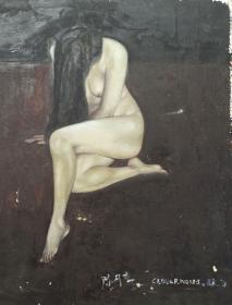 人物油画创作