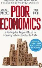 英文原版 贫穷的本质 Poor Economics 2019年诺贝尔经济学奖