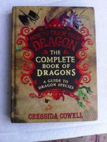 The Complete Book of Dragons :  A Guide to Dragon Species        英文原版   全铜版纸彩印