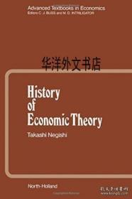 【包邮】History Of Economic Theory