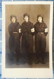 五十年代华东野战军卫生防化女兵老照片