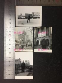 """文革 老照片 8张  合售  上海 """"共产党万岁""""""""阶级专政万岁""""毛主席像"""