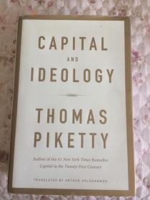 现货  Capital and Ideology   英文原版  资本与意识形态  托马斯皮凯蒂(Thomas Piketty)  不平等经济学:从基础开始真正理解不平等 资本论