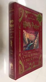 一印 Harry Potter and the Chamber of Secrets(Collector'sEdition) 哈利·波特与密室的秘密(珍藏版) 烫金 精装本
