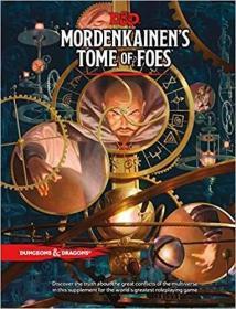 英文原版 Dungeons & Dragons Mordenkainen's Tome of Foes: 1