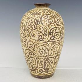 吉州窑梅瓶老货收藏