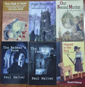 六本英文原版推理小说合出 保罗霍尔特 疯子的房间 鬼影街道