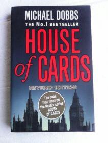 House of Cards    英文原版    纸牌屋