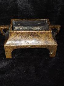 大明宣德年制铜香炉
