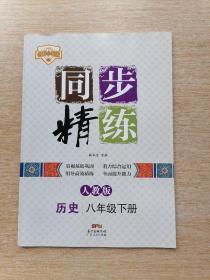 名师小课堂:同步精练 历史 八年级 下册(人教版)【附单元测试与评价+参考答案】(B418)