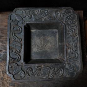 铁火炉火盆古代炉老式炭炉热水煮茶影视道具精美铁器古玩古董收藏