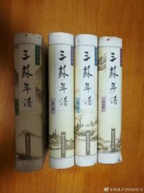 三苏年谱(套装共4卷)