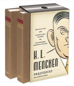 H. L. Mencken Prejudices 英文原版 门肯故事集 偏见集