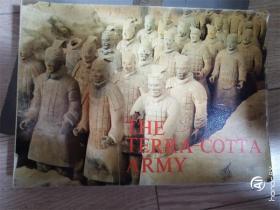 THE TERRA -COTTA ARMY秦始皇兵马俑(中英日)[16开横翻 彩图](秦俑发现人印章签赠纪念)