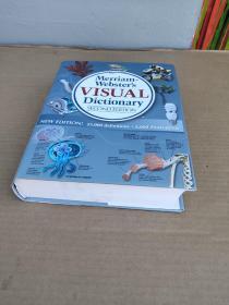 Merriam-Webster's Visual Dictionary梅里亚姆-韦伯斯特的视觉词典【精装 16开 带书衣】私人藏书 未翻阅 书干净
