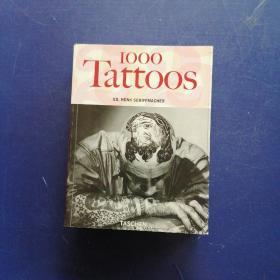 【英文原版设计画册】1000 tattoos
