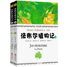 法布尔植物记:手绘珍藏版(全2册)因《昆虫记》闻名于世的法布尔又一巨作