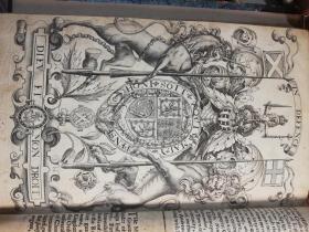 1680年  Observations Upon the Laws and Customs of Nations As To Precedency 和 The Science  of Herauldry  2本合一  含29副插图  28 cm x 18.5 cm
