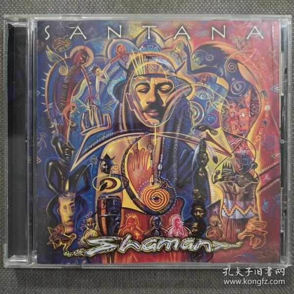 Shaman-藝人:Santana/桑塔納樂隊-爵士大師/拉丁搖滾-歐美正版CD