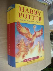 促销 Harry Potter and the order of the Phoenix (first edition) 英文原版 正品 精装厚本带书衣