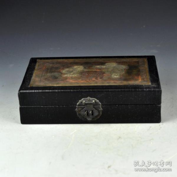 漆器童子首飾盒