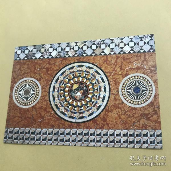 威尼斯 圣馬可教堂地磚 明信片。