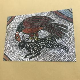 威尼斯 圣馬可教堂 馬賽克壁畫 明信片。