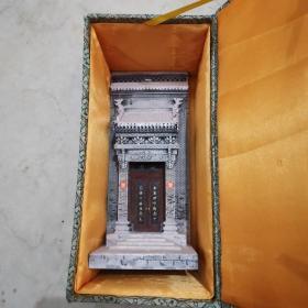 砖雕小门楼(模型一个)