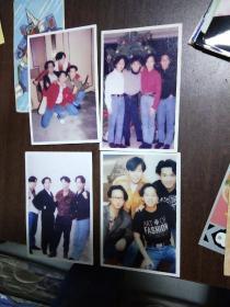 beyond乐队 黄家驹 老照片相片 90年代 非原版 相纸照片