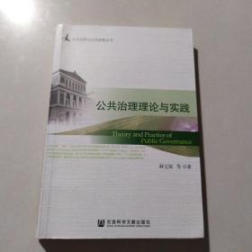 公共治理与公共政策丛书:公共治理理论与实践