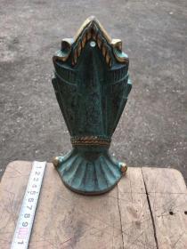 西洋铜器,摆件,书立,书挡,建筑,镀金