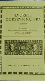 LVCRETI DE RERVM NATVRA (卢克莱修物性论拉丁文版)
