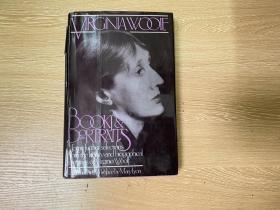 Books and Portraits    伍尔芙 随笔集《书与画像》英文原版,董桥爱读的作家,精装