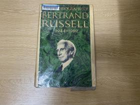 (初版)The Autobiography of Bertrand Russell    《罗素自传》英文原版,卷三,董桥:我那几年有空必读,读完再读,写人写事真好看,害我忘了琢磨造句的本事。布面精装,1969年老版书