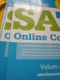 Sat College Board Online Course Test ( Ⅰ,Ⅱ,Ⅲ)三本合售