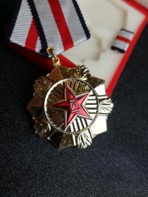 对越自卫反击战,老山作战,最高荣誉一等功奖章。