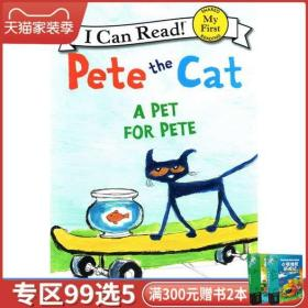 Pete the Cat: A Pet for Pete 英文原版