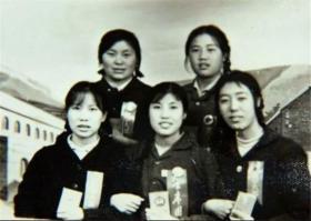 几十年奋斗不息的原大寨党支书、铁姑娘队队长郭凤莲照片10张5吋的gxs