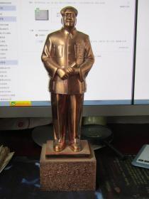 毛泽东同志铜像[星星之火可以燎原 中国名胜风景区旅游留念 编号9996]