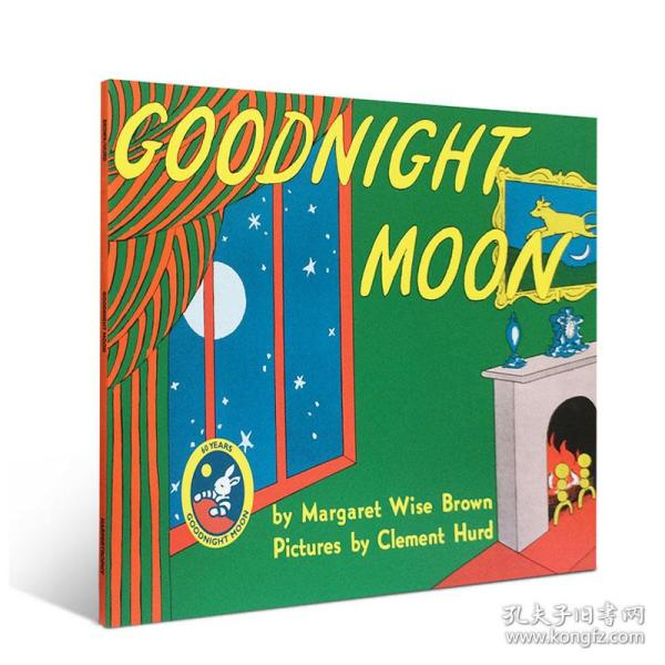 Goodnight Moon Book and CD 晚安月亮,书附CD版