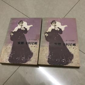 安娜卡列尼娜(上下全两册 品好!)