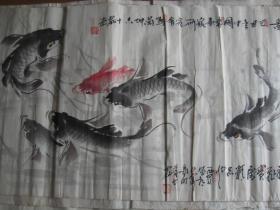 六顺图( 马兰坤  周仁辉合作国画)