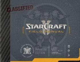英文原版Starcraft Field Manual星际争霸战地手册