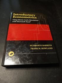 Introductory Econometrics:Using Monte Carlo Simulation with Microsoft Excel[计量经济学导论]  含盘