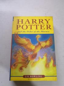 Harry Potter and the Order of the Phoenix(书口黄斑)