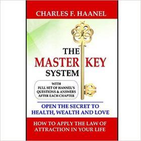 The Master Key System  (接受所有书籍预定, 任何二本 包邮)